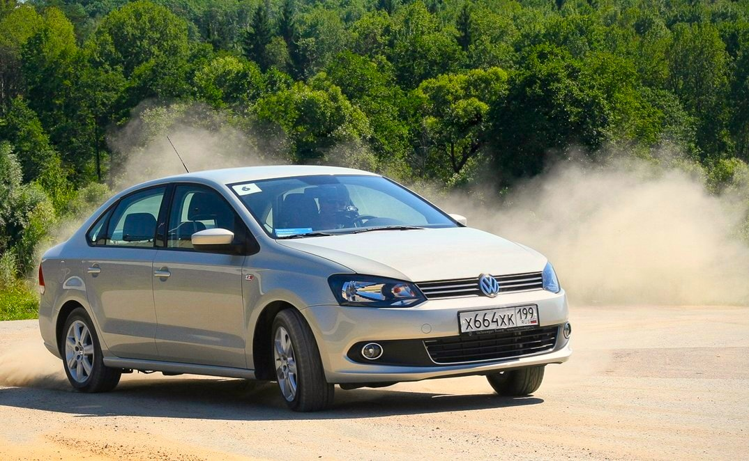 VW Polo Sedan. Another exceptional month for the Russian car market,